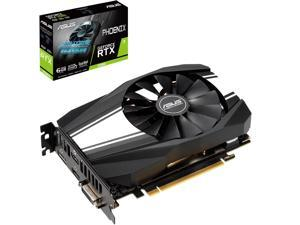 ASUS Phoenix GeForce RTX 2060 DirectX 12 PH-RTX2060-6G 6GB 192-Bit GDDR6 PCI Express 3.0 HDCP Ready Video Card