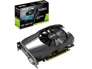 ASUS Phoenix GeForce GTX 1660 Ti PH-GTX1660TI-O6G 6GB 192-Bit GDDR6 PCI Express 3.0 HDCP Ready Video Card