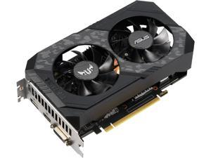 ASUS TUF Gaming GeForce GTX 1660 6GB Dual-fan Edition HDMI DP DVI Gaming Graphics Card (TUF-GTX1660-6G-GAMING)