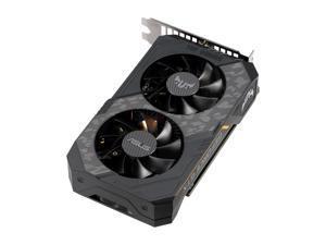ASUS TUF Gaming GeForce GTX 1660 Ti DirectX 12 TUF-GTX1660TI-O6G-GAMING 6GB 192-Bit GDDR6 PCI Express 3.0 HDCP Ready Video Card