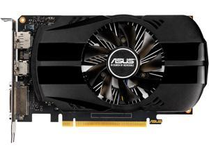 ASUS GeForce GTX 1650 4GB Phoenix Fan Overclocked Edition HDMI DP DVI Graphics Card (PH-GTX1650-O4G)