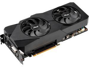 ASUS Dual GeForce RTX 2070 DirectX 12 DUAL-RTX2070-O8G-EVO 8GB 256-Bit GDDR6 PCI Express 3.0 HDCP Ready Video Card
