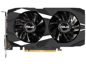ASUS Dual GeForce GTX 1650 DUAL-GTX1650-4G 4GB 128-Bit GDDR5 PCI Express 3.0 HDCP Ready Video Card