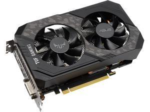 ASUS TUF Gaming GeForce GTX 1660 SUPER Overclocked 6GB Edition HDMI DP DVI Gaming Graphics Card (TUF-GTX1660S-O6G-GAMING)