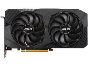 ASUS AMD Radeon RX 5500 XT Overclocked O8G GDDR6 Dual Fan EVO Edition HDMI DisplayPort Gaming Graphics Card (DUAL-RX5500XT-O8G-EVO)