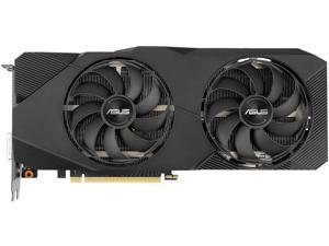 ASUS Dual GeForce RTX 2060 SUPER DUAL-RTX2060S-O8G-EVO-V2 8GB 256-Bit GDDR6 PCI Express 3.0 x16 HDCP Ready ATX Video Card