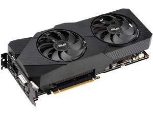 ASUS Dual GeForce RTX 2070 DirectX 12 DUAL-RTX2070-O8G-EVO-V2 8GB 256-Bit GDDR6 PCI Express 3.0 HDCP Ready Video Card