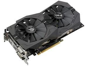 ASUS ROG Strix Radeon RX 570 DirectX 12 ROG-STRIX-RX570-O8G-GAMING 8GB 256-Bit GDDR5 PCI Express 3.0 HDCP Ready Video Card