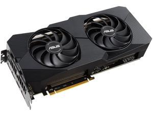 ASUS Dual Radeon RX 5600 XT DUAL-RX5600XT-T6G-EVO 6GB 192-Bit GDDR6 PCI Express 4.0 HDCP Ready CrossFireX Support Video Card