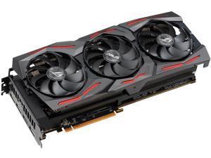 ASUS ROG STRIX Radeon RX 5600 XT ROG-STRIX-RX5600XT-T6G-GAMING 6GB 192-Bit GDDR6 PCI Express 4.0 HDCP Ready Video Card