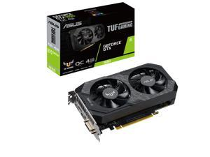 ASUS TUF Gaming GeForce GTX 1650 TUF-GTX1650-O4GD6-P-GAMING 4GB 128-Bit GDDR6 PCI Express 3.0 HDCP Ready Video Card