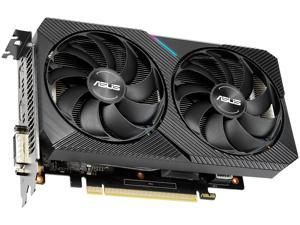 ASUS Dual GeForce RTX 2060 DirectX 12 DUAL-RTX2060-O6G-MINI 6GB 192-Bit GDDR6 PCI Express 3.0 HDCP Ready Video Card