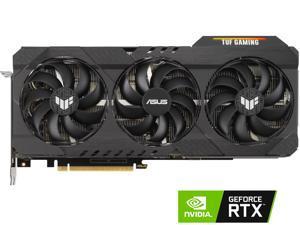 ASUS TUF Gaming GeForce RTX 3090 DirectX 12 TUF-RTX3090-O24G-GAMING 24GB 384-Bit GDDR6X PCI Express 4.0 x16 HDCP Ready SLI Support Video Card
