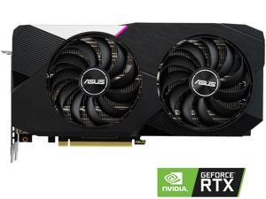 ASUS Dual GeForce RTX 3060 Ti DUAL-RTX3060TI-O8G 8GB 256-Bit GDDR6 PCI Express 4.0 HDCP Ready Video Card