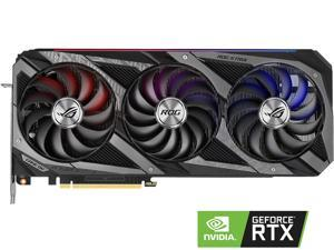 ASUS ROG STRIX GeForce RTX 3060 Ti DirectX 12 ROG-STRIX-RTX3060TI-O8G-GAMING 8GB 256-Bit GDDR6 PCI Express 4.0 HDCP Ready Video Card