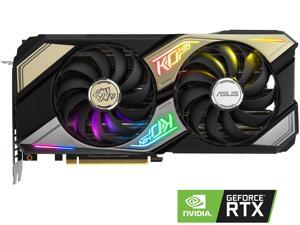 ASUS GeForce RTX 3060 Ti DirectX 12 KO-RTX3060TI-O8G-GAMING 8GB 256-Bit GDDR6 PCI Express 4.0 HDCP Ready Video Card