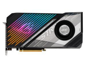 ASUS ROG STRIX Radeon RX 6800 XT DirectX 12 Ultimate ROG-STRIX-LC-RX6800XT-O16G-GAMING 16GB 256-Bit GDDR6 PCI Express 4.0 HDCP Ready CrossFireX Support Video Card