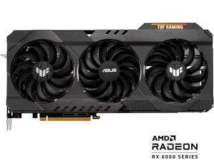 ASUS TUF Gaming Radeon RX 6800 XT 16GB GDDR6 PCI Express 4.0 CrossFireX Support Video Card TUF-RX6800XT-O16G-GAMING