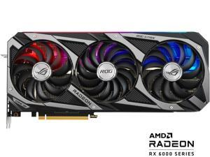 ASUS ROG STRIX Radeon RX 6800 16GB GDDR6 PCI Express 4.0 CrossFireX Support Video Card ROG-STRIX-RX6800-O16G-GAMING