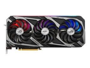 ASUS ROG STRIX Radeon RX 6800 DirectX 12 Ultimate ROG-STRIX-RX6800-O16G-GAMING 16GB 256-Bit GDDR6 PCI Express 4.0 HDCP Ready CrossFireX Support Video Card