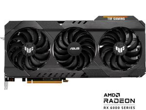 ASUS TUF Gaming Radeon RX 6900 XT TUF-RX6900XT-O16G-GAMING 16GB 256-Bit GDDR6 PCI Express 4.0 HDCP Ready CrossFireX Support Video Card