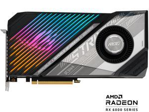 ASUS ROG Strix Radeon RX 6900 XT DirectX 12 Ultimate ROG-STRIX-LC-RX6900XT-O16G-GAMING 16GB 256-Bit GDDR6 PCI Express 4.0 HDCP Ready CrossFireX Support Video Card