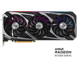 ASUS ROG STRIX Radeon RX 6700 XT OC Edition Gaming Graphics Card (AMD RDNA 2, PCIe 4.0, 12GB GDDR6, HDMI 2.1, DisplayPort 1.4a, Axial-tech Fan Design, 2.9-slot, Super Alloy Power II, GPU Tweak II)