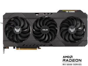 ASUS TUF Gaming Radeon RX 6700 XT OC Edition Graphics Card (AMD RDNA 2, PCIe 4.0, 12GB GDDR6, HDMI 2.1, DisplayPort 1.4a, Dual Ball Fan Bearings, All-aluminum Shroud, Reinforced Frame, GPU Tweak II)