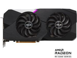 ASUS DUAL Radeon RX 6700 XT Standard Edition 12GB GDDR6 Gaming Graphics Card (AMD RDNA 2, PCIe 4.0, 12GB GDDR6 Memory, HDMI 2.1, DisplayPort 1.4a, Axial-tech Fan Design, 0dB Technology)