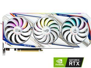 ASUS ROG STRIX NVIDIA GeForce RTX 3080 GUNDAM EDITION Graphics Card (Limited Edition, PCIe 4.0, 10GB GDDR6X, HDMI 2.1, DisplayPort 1.4a, Axial-tech Fan Design, 2.9-slot, Super Alloy Power II)