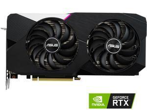 ASUS Dual GeForce RTX 3060 Ti V2 OC Edition 8GB GDDR6 PCI Express 4.0 Video Card DUAL-RTX3060TI-O8G-V2 (LHR)