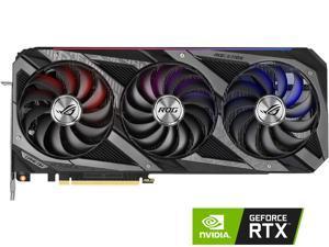 ASUS ROG Strix NVIDIA GeForce RTX 3060 Ti V2 OC Edition Gaming Graphics Card (PCIe 4.0, 8GB GDDR6, LHR, HDMI 2.1, DisplayPort 1.4a, Axial-tech Fan Design, 2.9-slot, Super Alloy Power II, GPU Tweak II)