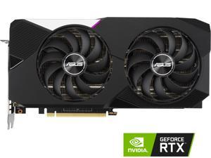 ASUS Dual NVIDIA GeForce RTX 3070 V2 OC Edition Gaming Graphics Card (PCIe 4.0, 8GB GDDR6, LHR, HDMI 2.1, DisplayPort 1.4a, Axial-tech Fan Design, Dual BIOS, Protective Backplate)