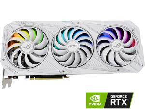 ASUS ROG STRIX GeForce RTX 3080 10GB GDDR6X PCI Express 4.0 x16 ATX Video Card ROG-STRIX-RTX3080-O10G-WHITE-V2 (LHR)