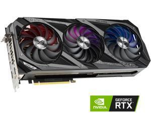ASUS ROG Strix GeForce RTX 3080 V2 OC Edition 10GB GDDR6X PCI Express 4.0 x16 Video Card ROG-STRIX-RTX3080-O10G-V2-GAMING (LHR)