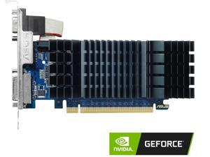 ASUS GeForce GT 730 2GB GDDR5 PCI Express 2.0 Low Profile Video Card for Silent HTPC Builds (with I/O Port Brackets) GT730-SL-2GD5-BRK