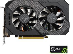 ASUS TUF Gaming GeForce GTX 1660 Ti EVO TOP Edition 6GB GDDR6 PCI Express 3.0 ATX Video Card TUF-GTX1660TI-T6G-EVO-GAMING