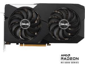 ASUS Dual Radeon RX 6600 8GB PCI Express 4.0 Video Card DUAL-RX6600-8G-SAY