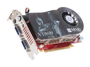 MSI GeForce 8600 GT DirectX 10 NX8600GT Twin Turbo 256MB 128-Bit GDDR3 PCI Express x16 SLI Support Video Card