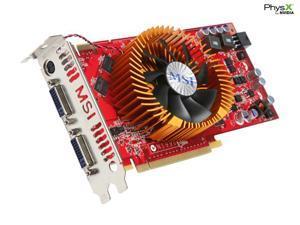 MSI GeForce 9800 GT DirectX 10 N9800GT-T2D512-OC V2 512MB 256-Bit GDDR3 PCI Express 2.0 x16 HDCP Ready SLI Support Video Card
