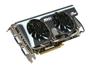 MSI GeForce GTX 460 (Fermi) 1GB GDDR5 PCI Express 2.0 x16 SLI Support Video Card N460GTX Hawk