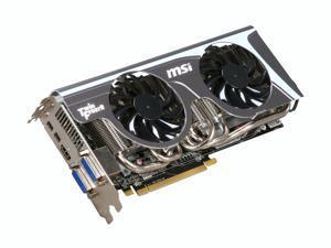 MSI Radeon HD 6870 1GB GDDR5 PCI Express 2.1 x16 CrossFireX Support Video Card with Eyefinity R6870 Twin Frozr II