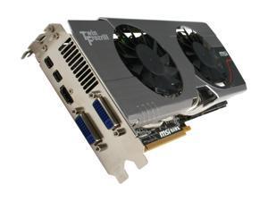 MSI Radeon HD 6870 1GB GDDR5 PCI Express 2.1 x16 CrossFireX Support Video Card with Eyefinity R6870 Hawk