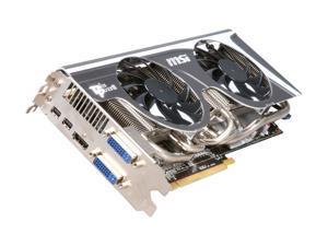 MSI Radeon HD 6950 2GB GDDR5 PCI Express 2.1 x16 CrossFireX Support Video Card with Eyefinity R6950 Twin Frozr II OC