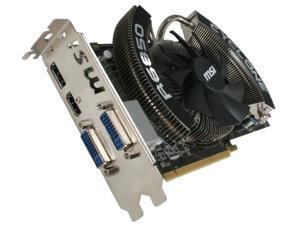 MSI Radeon HD 6850 1GB GDDR5 PCI Express 2.1 x16 CrossFireX Support Video Card with Eyefinity R6850 Cyclone PE