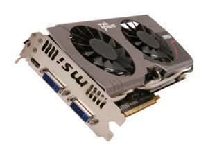 MSI GeForce GTX 560 Ti (Fermi) DirectX 11 N560GTX-Ti Hawk 1GB 256-Bit GDDR5 PCI Express 2.0 x16 HDCP Ready SLI Support Video Card