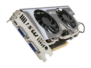 MSI GeForce GTX 560 (Fermi) 1GB GDDR5 PCI Express 2.0 x16 SLI Support Video Card N560GTX Twin Frozr II/OC