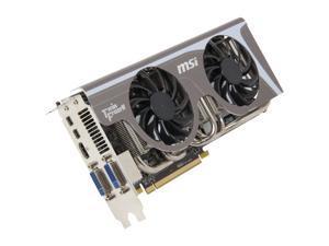 MSI Radeon HD 6950 DirectX 11 R6950 Twin Frozr II/OC 2GB 256-Bit GDDR5 PCI Express 2.1 x16 HDCP Ready CrossFireX Support Video Card with Eyefinity