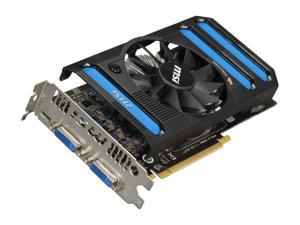 MSI GeForce GTX 650 1GB GDDR5 PCI Express 3.0 x16 Video Card N650-1GD5/OC