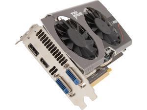 MSI GeForce GTX 650 Ti BOOST 2GB GDDR5 PCI Express 3.0 SLI Support Video Card N650TI TF 2GD5/OC BE